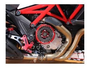Ducabike Kupplungsgehäusedeckel für Ölbadkupplungen