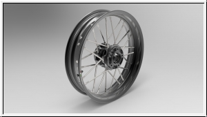Borrani-Jonich M-RAY.9 Felgen Paar Ducati & MV Agusta Monoschwinge