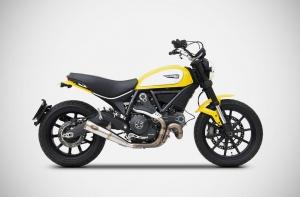 ZARD Schalldämpfer ZUMA Ducati Scrambler