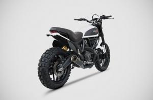 ZARD Schalldämpfer ZUMA Ducati Scrambler 800