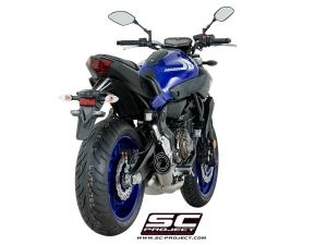 SC-Project Komplettanlage S1 Yamaha MT-07, XSR-700 und Tracer 700