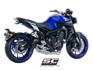 SC-Project Komplettanlage S1 Yamaha MT-09 ab 2017