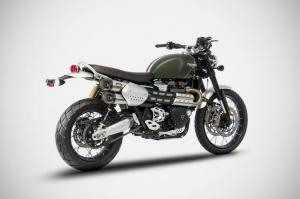 ZARD Schalldämpfer Paar Triumph Scrambler 1200