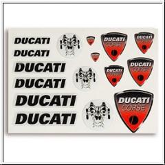 Ducati Corse Aufkleber-Set