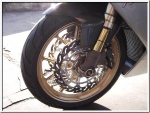 Moto-Master flame Bremsscheiben Paar vorne