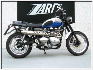 ZARD 2>1 Komplettanlage hoch Triumph Scrambler