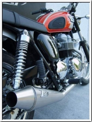 ZARD 2>1 Komplettanlage Triumph Bonneville, Scrambler & Thruxton