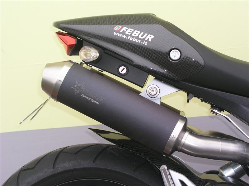 Spark silencers pair Monster 696, 796 and 1100