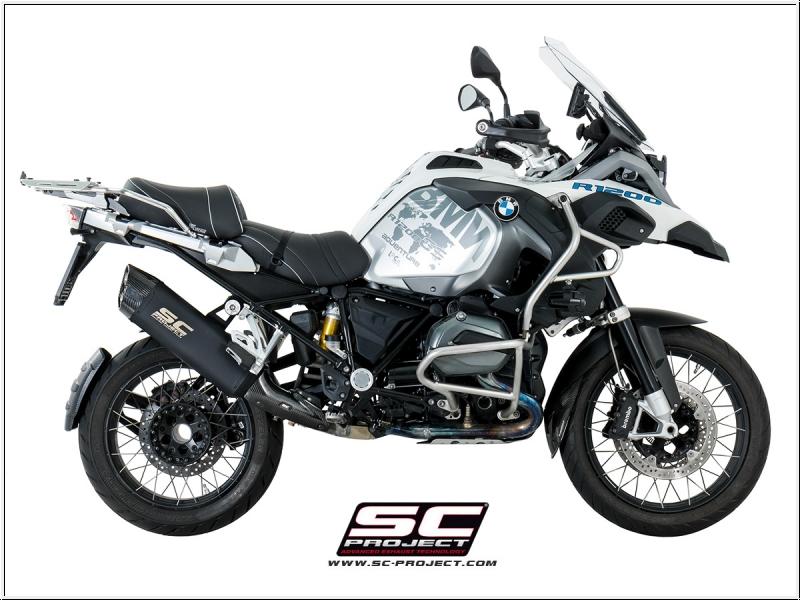 SC-Project Schalldämpfer BMW R 1200 GS ab 2013