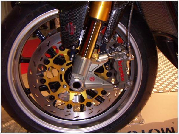 Motocorse Ergal Gabelfuss Kit Aufnahme 108 mm