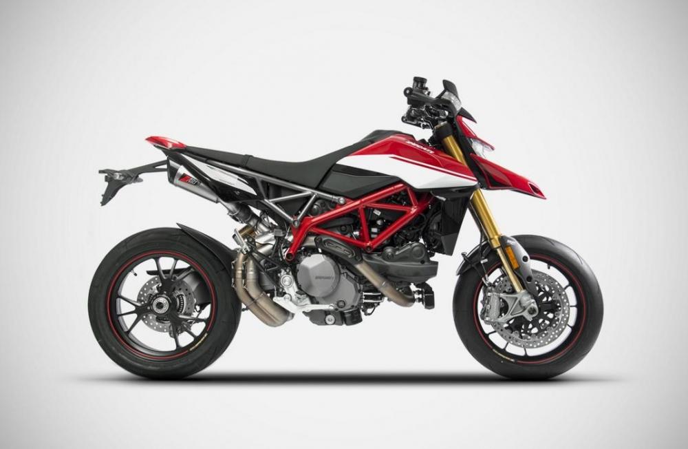 ZARD Schalldämpfer Paar GT Ducati Hypermotard 950