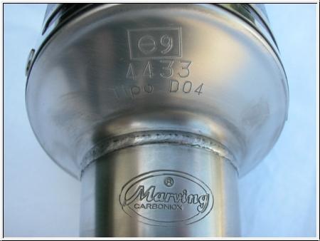 Marving Schalldämpfer-Paar hoch Monster 600 bis S4