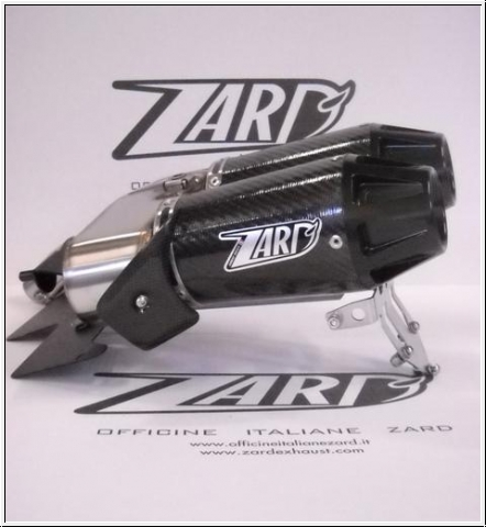 ZARD Schalldämpfer Top-Gun Hypermotard 796 & 1100