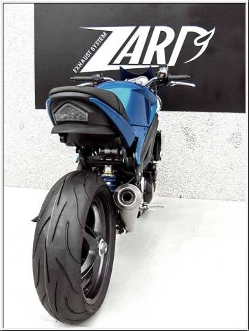 ZARD 3>1 Komplettanlage Triumph Speed Triple 2005-10