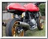 ZARD Schalldämpfer Paar snake conical Ducati GT 1000