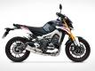ZARD Komplettanlage mit Kat. Yamaha MT-09 2014-16
