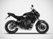 ZARD 2>1 full-kit Yamaha MT-07 and XSR 700