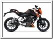 ZARD Schalldämpfer Kit KTM Duke 125-200