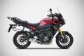 ZARD 3>1 Komplettanlage mit Kat. Yamaha MT-09  Tracer 2015-16