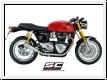 SC-Project Schalldämpfer Paar Conic 70s Triumph Thruxton 1200/R