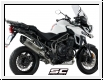 SC-Project Schalldämpfer Adventure Triumph Tiger Explorer und Sport ab 2016