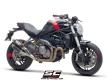 SC-Project Schalldämpfer Twin GP mit Kat. Ducati Monster 821 ab 2018