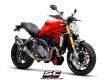 SC-Project Schalldämpfer SC1-R mit Kat. Ducati Monster 1200 S/R