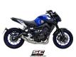 SC-Project Komplettanlage Conico 70s Yamaha MT-09 und XSR 900 ab 2017