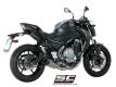 SC-Project Komplettanlage SC1-R Kawasaki Z650 BJ 2017-21