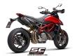 SC-Project Schalldämpfer Paar S1-Carbon Ducati Hypermotard 950