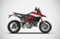 ZARD Schalldämpfer Paar Top-Gun Ducati Hypermotard 950