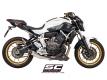 SC-Project Komplettanlage S1 mit Kat. Yamaha MT-07 und XSR-700 2013 bis 2016