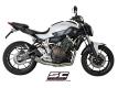 SC-Project Komplettanlage Conico mit Kat. Yamaha MT-07 und XSR-700 2013 bis 2016