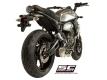 SC-Project Komplettanlage conico 70s Yamaha MT-07 und XSR-700 2013 bis 2016