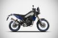 ZARD Schalldämpfer Yamaha Ténéré 700 ab BJ 2019