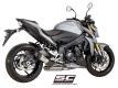 SC-Project Schalldämpfer S1 Suzuki GSX-S 1000 ab BJ 2017