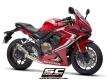 SC-Project Komplettanlage SC1-M Honda CB650 R und CBR650 R ab BJ 2019