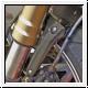 Motocorse Kotflügelstreben vorne F4 und Brutale